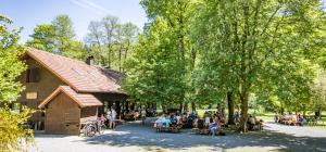 Blockhütte im Waldnaabtal