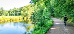 Idyllische Flusslandschaften